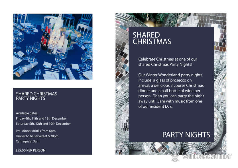 Hire Christmas Parties At Why Not Nightclub Shared Christmas Parties 3