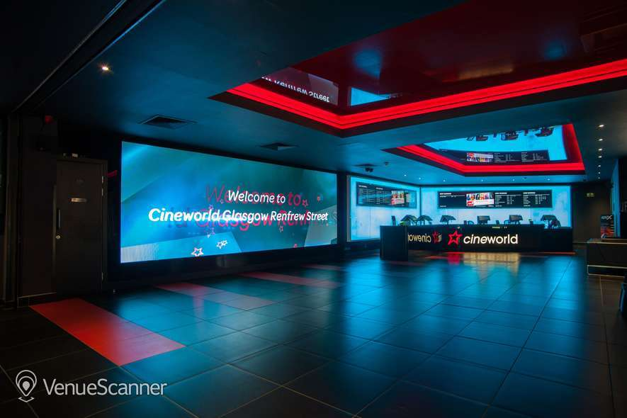 Hire Cineworld Glasgow Renfrew Street Screen 13 - 241 Seats
