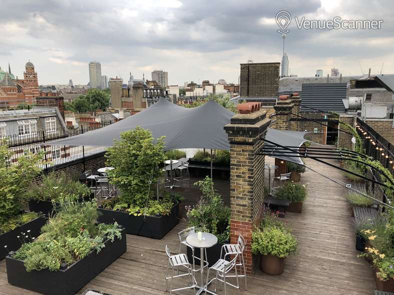 Hire Cathedral View Roof Top Garden