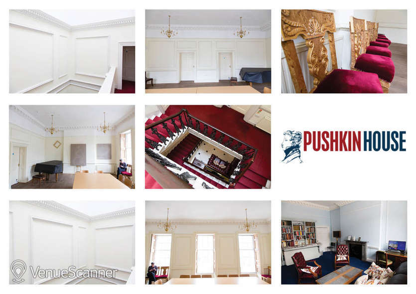 Hire Pushkin House Music And Function Room 4