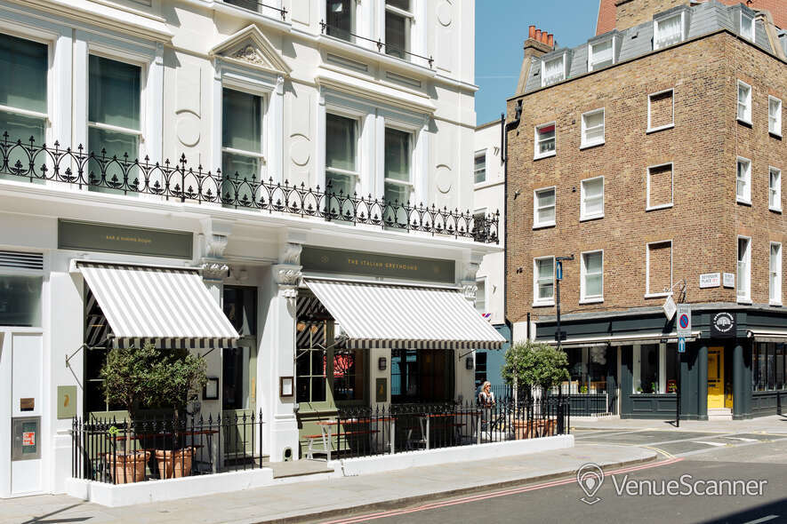 Hire The Italian Greyhound The Garden Room (Private Dining Room & Bar) 13