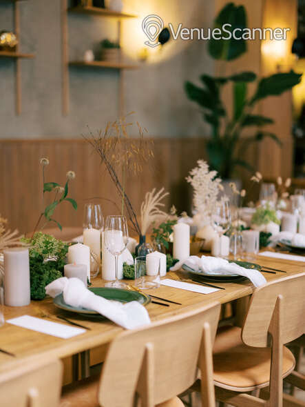 Hire The Italian Greyhound The Garden Room (Private Dining Room & Bar) 16