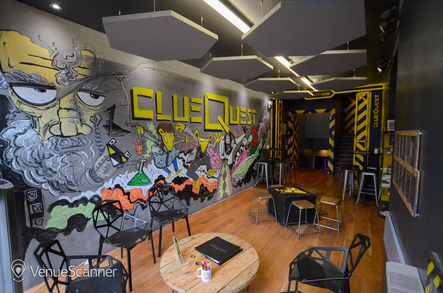 Hire Cluequest Escape Room | Event Space Full Venue Hire + Garden 1