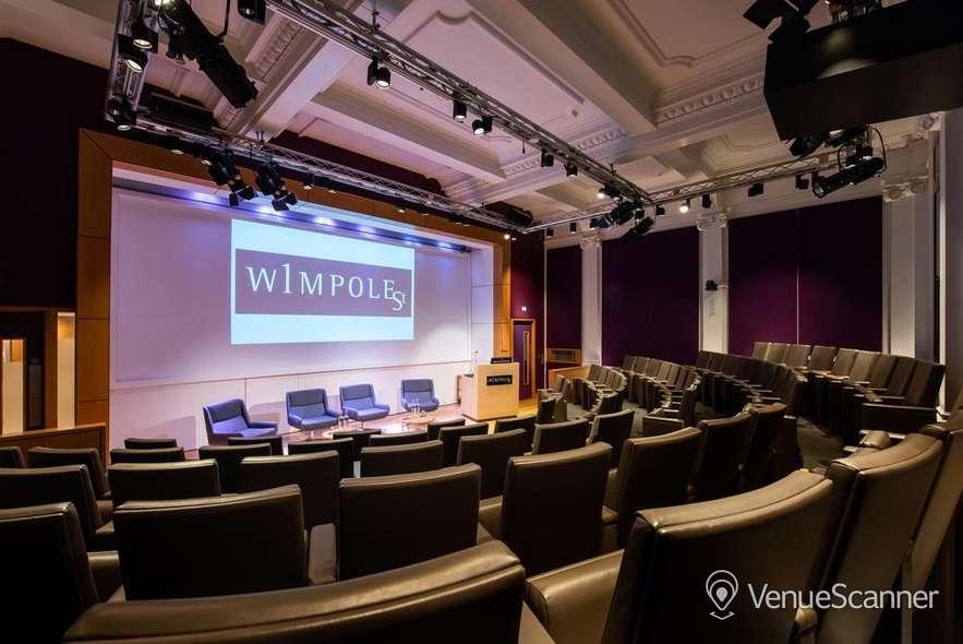 Hire 1 Wimpole Street Naim Dangoor Auditorium