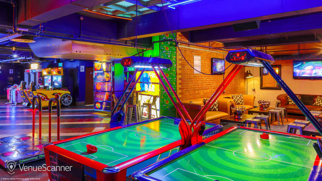 Hire Namco Funscape Games Lounge Venuescanner