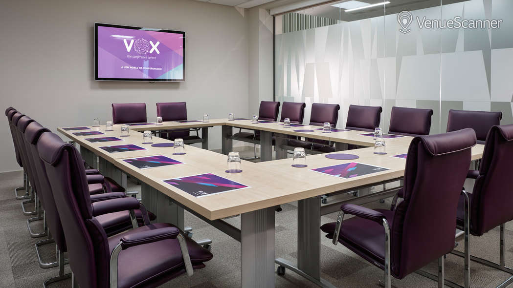 Hire Vox Conference Venue Boardroom VenueScanner - Vox conference table
