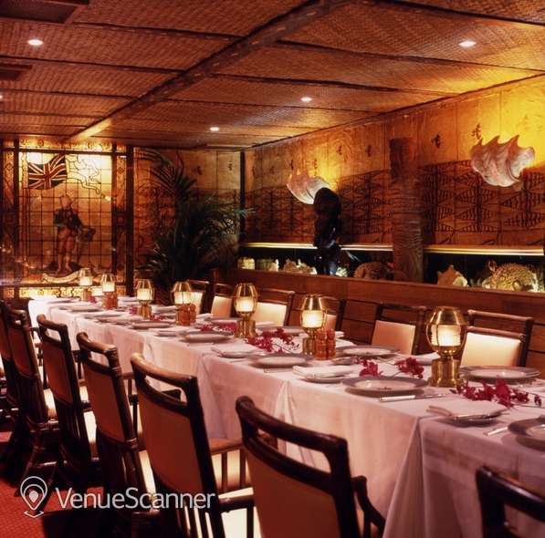 Hire Trader Vic's London Tiki Private Dining Room