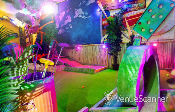 Hire Plonk Golf Shoreditch The Whole Course 3