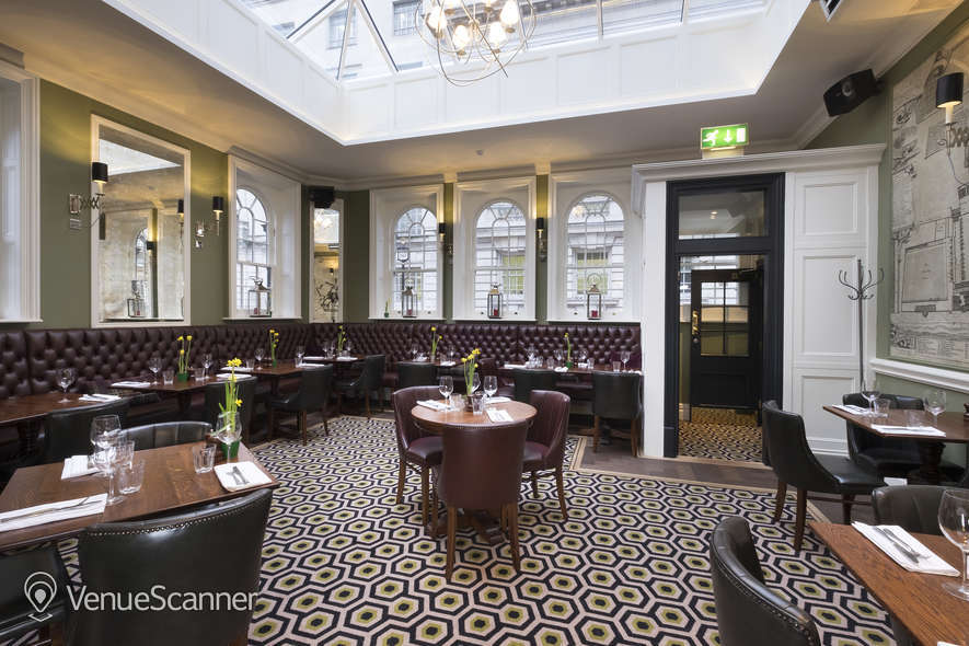 Hire Youngs The Clarence Whitehall Tin Belly Dining Room 3