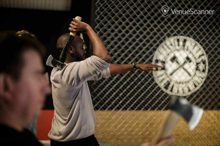 Hire Whistle Punks Urban Axe Throwing Whistle Punks Vauxhall 1