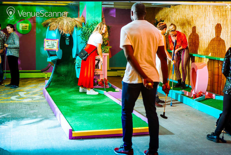 Hire Plonk  Crazy Golf Peckham The Whole Course
