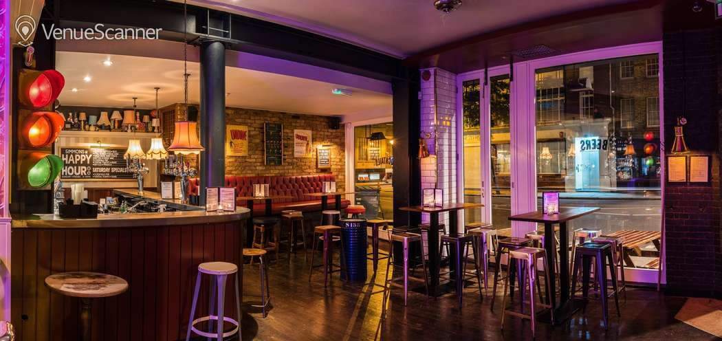 Hire Simmons | Clerkenwell Full Venue Hire