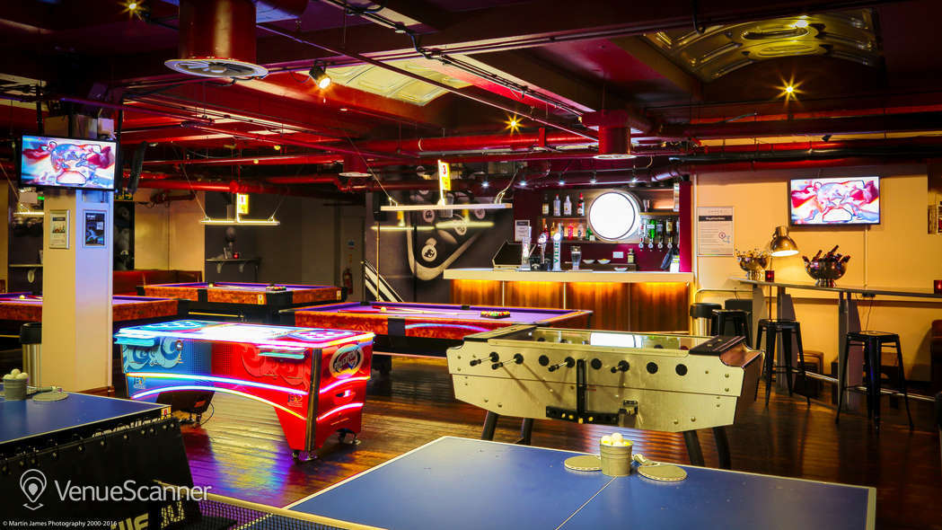 Hire Namco Funscape Ping Amp Pool Hall Venuescanner