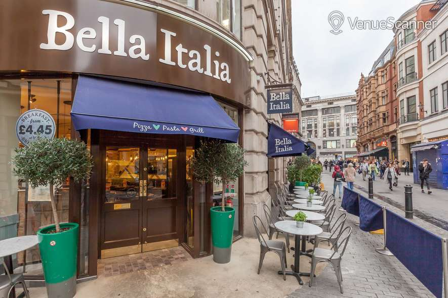 Hire Bella Italia Argyll Street Bella's Limoncello Cove 1