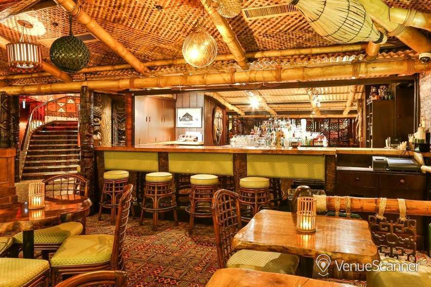 Hire Trader Vic's London Tiki Private Dining Room 1