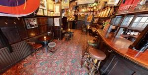 The Churchill Arms, Seating Bar Area