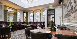 The Clarence Whitehall, Tin Belly Dining Room