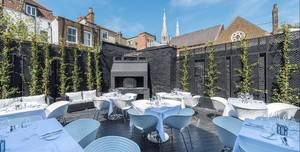 Gaucho Hampstead, Terrace