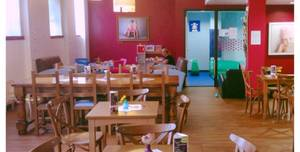 Cupcake Family Club Slice Studios, Cafe Area