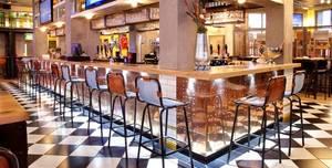 Sports Bar & Grill Waterloo, Semi-private Bar Area