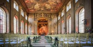 The Painted Hall, Old Royal Naval College, Greenwich, Whole Venue
