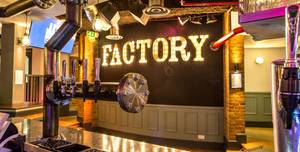 Preistfield Conference and Banqueting, Factory Bar