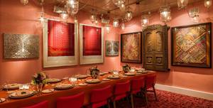 Masala Zone Bayswater W2, Private Dining room