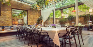 Manicomio Chelsea, The Conservatory Private Room