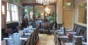 Browns Bar And Brasserie Edinburgh, Private Dining Room