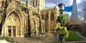 Southwark Cathedral, Churchyard