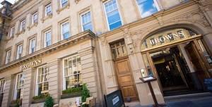 Browns Brasserie & Bar Newcastle, Private Areas