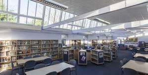 Wheatley Park School, Library