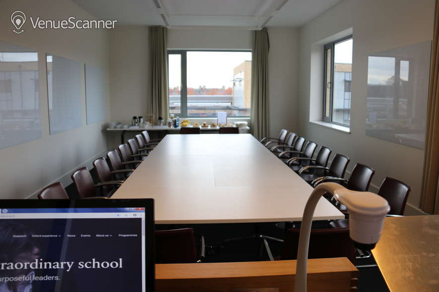 Hire Said Business School: Park End Street Venue Credit Ease Classroom