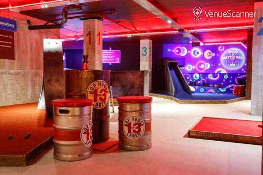 Hire Boom: Battle Bar Cardiff Beer Garden 18