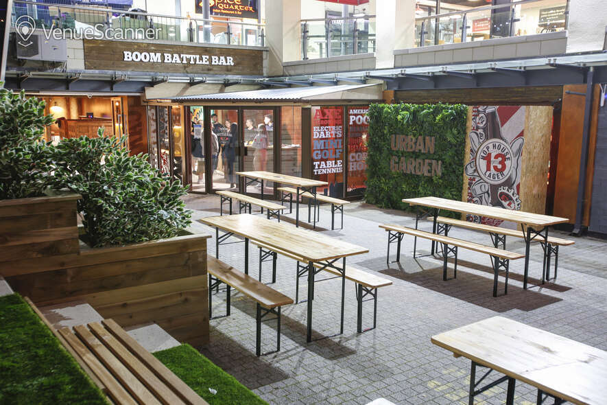 Hire Boom: Battle Bar Cardiff Beer Garden