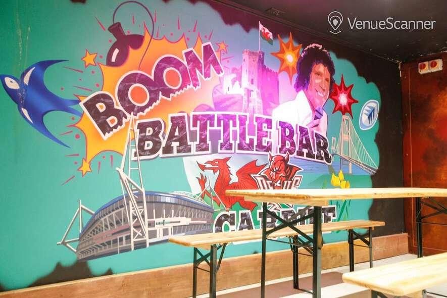 Hire Boom: Battle Bar Cardiff Beer Garden 17