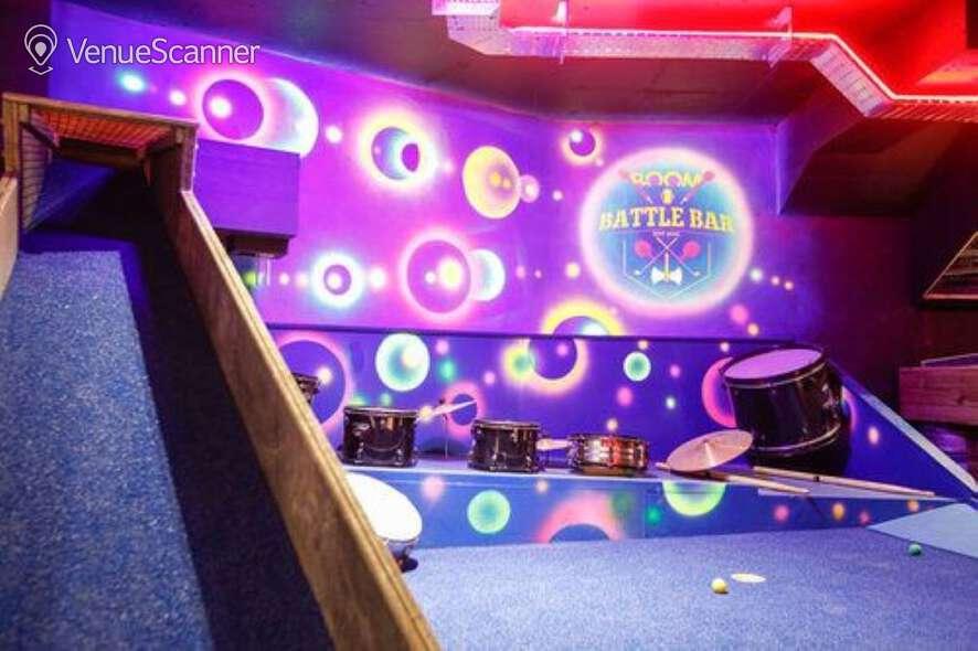 Hire Boom: Battle Bar Cardiff The Golf Bar 5