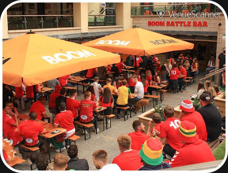 Hire Boom: Battle Bar Cardiff Beer Garden 1