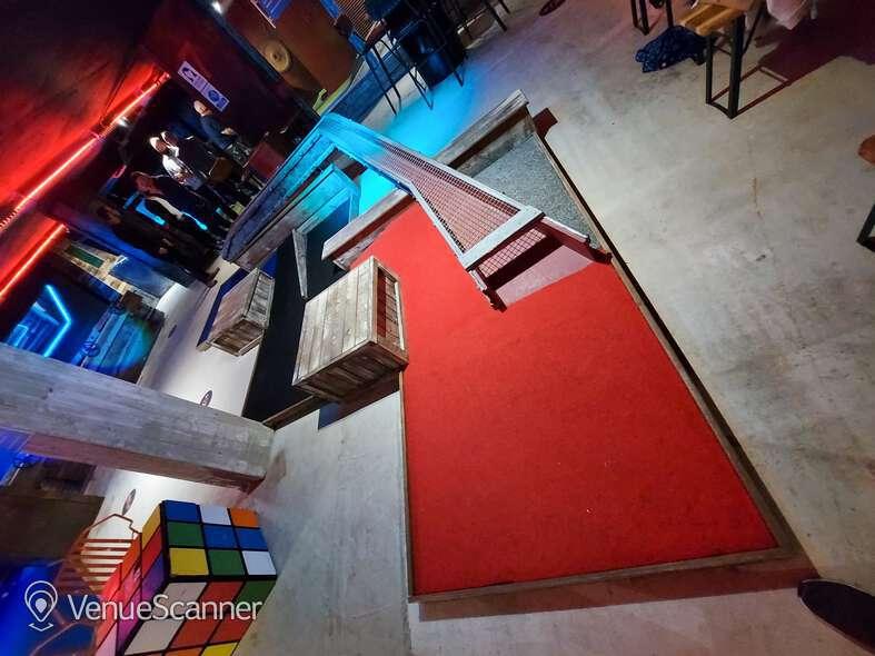 Hire Boom: Battle Bar Cardiff The Golf Bar 4