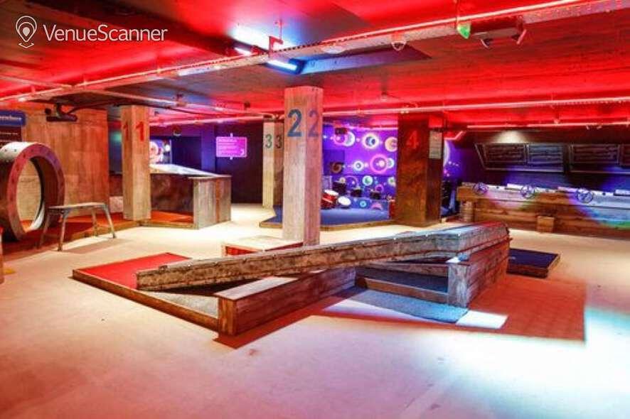 Hire Boom: Battle Bar Cardiff The Golf Bar 1