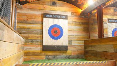 Boom: Battle Bar Cardiff, The Axe Lanes