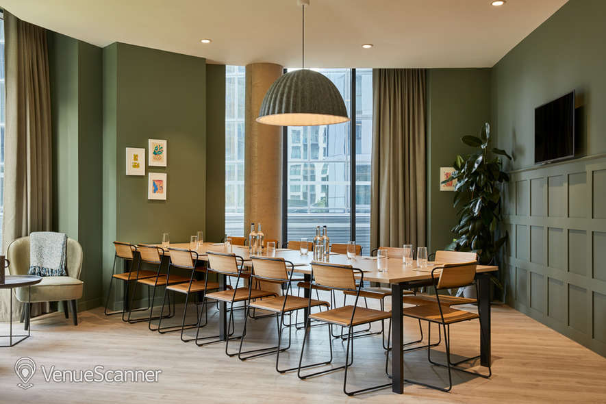 Hire The Collective Venues - Canary Wharf The Study 1