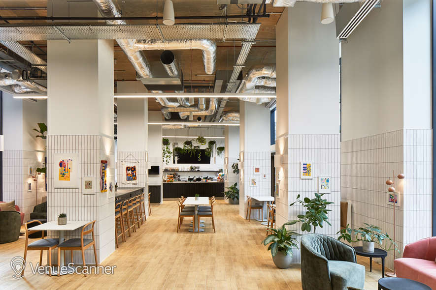 Hire The Collective Venues - Canary Wharf MAE Cafe 1