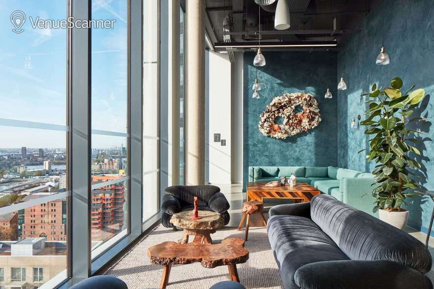 Hire The Collective Venues - Canary Wharf The Lounge @ MTHR 3