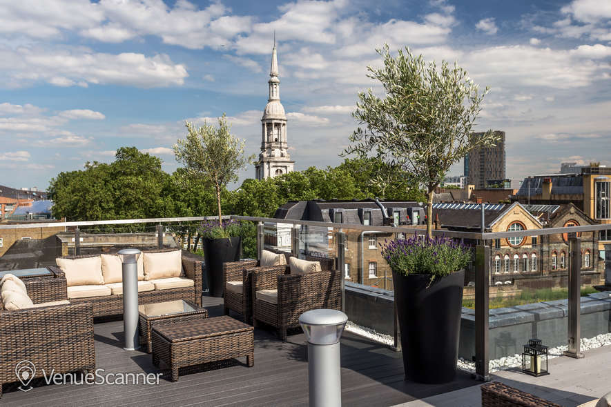 Hire Courthouse Hotel Shoreditch Shoreditch Sky Terrace 3