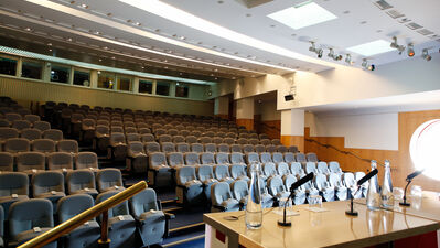 British Library Conference Centre, The Auditorium