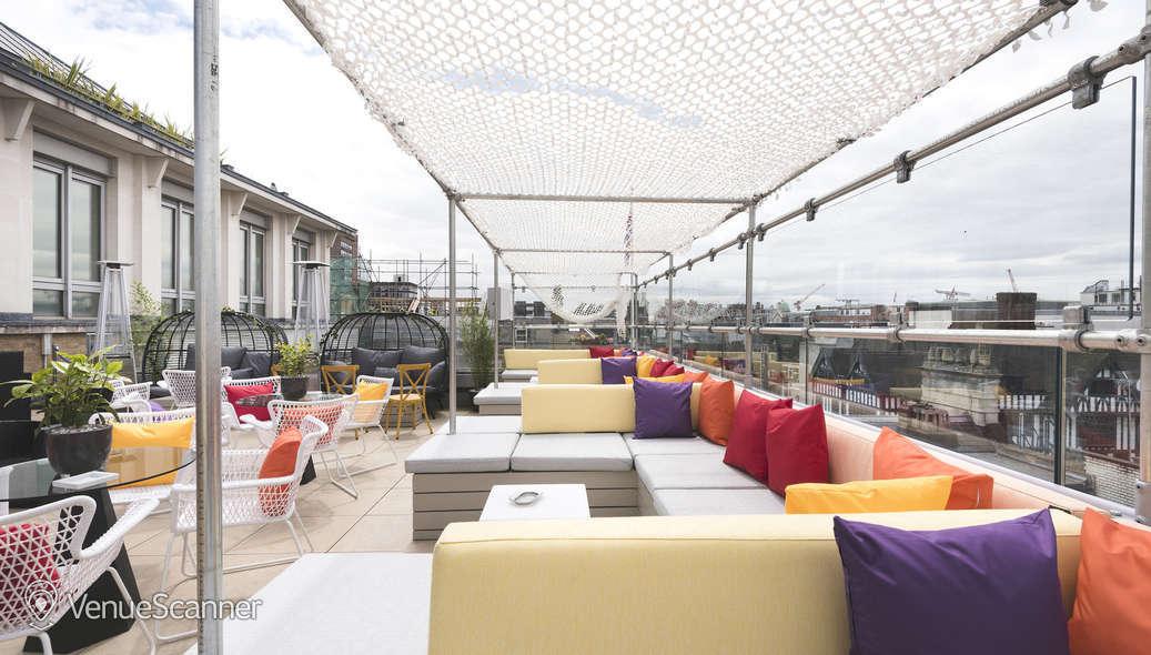 Hire Courthouse Hotel Soho Toy Roof