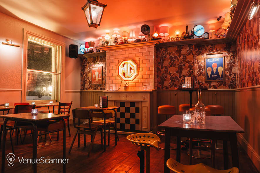 Hire Simmons | Soho Function Room Hire 1
