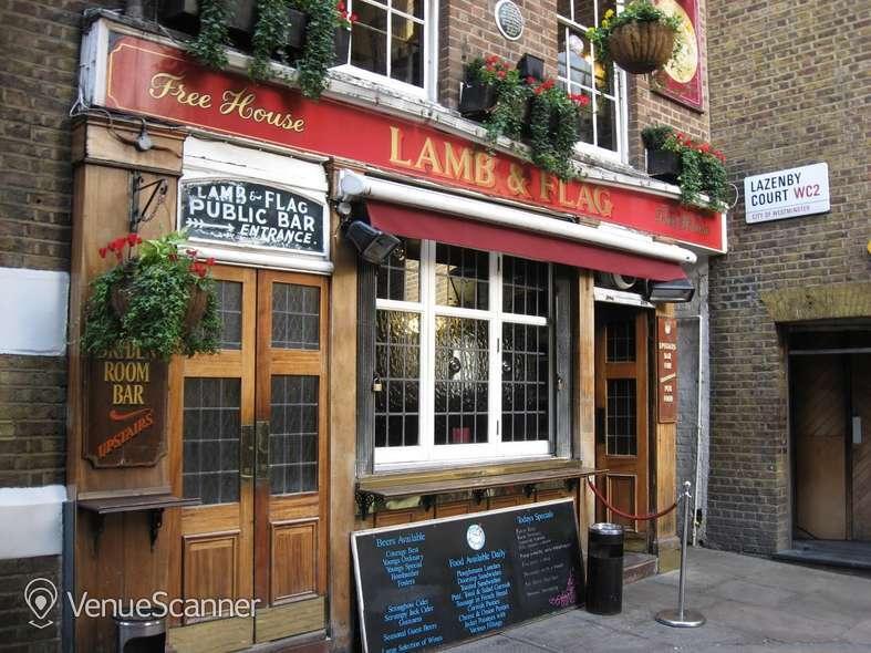 Hire The Lamb & Flag The Dryden Room