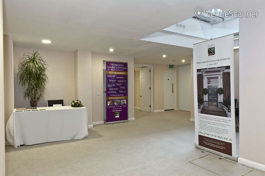 Hire Arab-British Chamber Of Commerce Venue The Ivory Suite 3